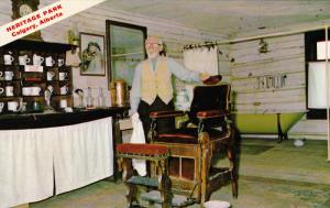 Heritage Park, Barbershop, CALGARY, Alberta, Canada, 40-60´s