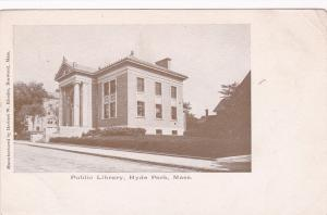 HYDE PARK, Massachusetts, 00-10s; Public Library