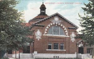 WINDSOR , Ontario , PU-1908 ; Methodist Church