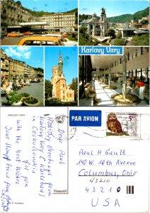 Karlovy Vary, Czechoslovakia Republic, Multi-Views (9335)