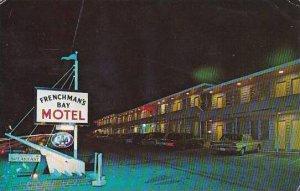 Maine Bar Harbor Frenchmans Bay Motel Eden Street 1969