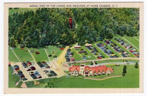Aerial View Of The Lodge And Grounds At Howe Caverns, N.Y.