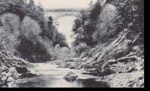 Vermont Woodstock  Quechee Gulf Bridge