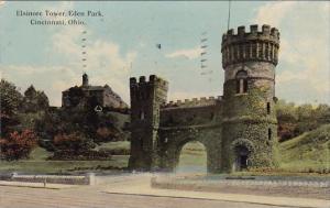 Ohio Cincinnati Elsinore Tower Eden Park 1912