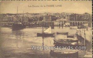 Les Escales Fabre Line, France, Carte, Unused