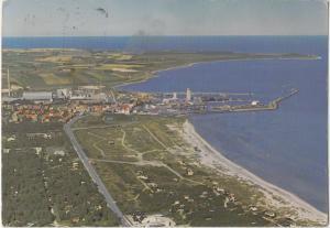 GRENA, Denmark, aerial view, 1976 used Postcard