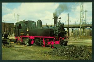 East Germany German State Railways DR99 1563 Meyer Mallet Tank Train Postcard