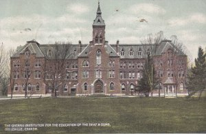BELLEVILLE, Ontario, Canada, PU-1900; The Ontario Institution For The Educati...