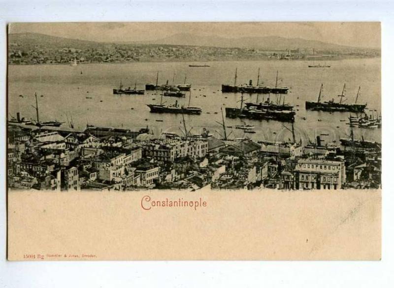 190676 TURKEY CONSTANTINOPLE Vintage Rommler u Jonas postcard