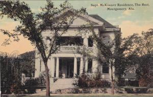 Supt. McKinney Residence, The Rest, Montgomery, Alabama, 00-10's