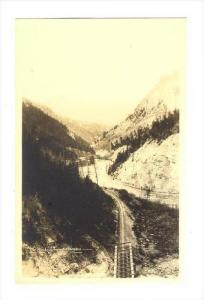 RP, The Kickinghorse Canyon, Alberta, Canada, 1920-1940s