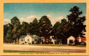 North Carolina Fayetteville Colonial Auto Court Dexter Press