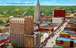 Mississippi Jackson Aerial View Hotel Heidelberg