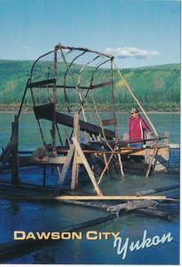Canada Yukon Dawson City Traditional Fish Wheel