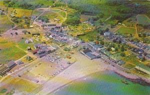 Maine York Beach Air View Of Short Sands Beach
