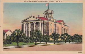 Florida Panama City Bay County Court House