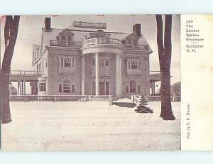 Pre-1907 HISTORIC HOME Rochester New Hampshire NH W5022