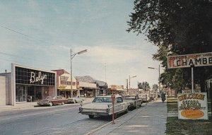 OSCODA , Michigan , 1950-60s ; Downtown Area