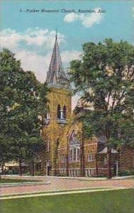 Alabama Anniston Parker Memorial Church Curteich
