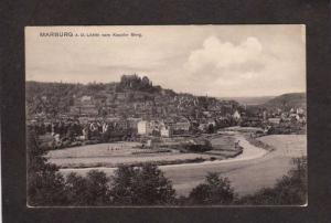 Germany Marburg A D Lahn vom Kappler Berg Postcard Postkarte Carte Postale