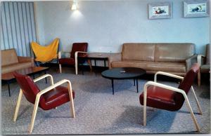 Upstairs Lounge, Lander Hall University Washington Seattle Vintage Postcard K04