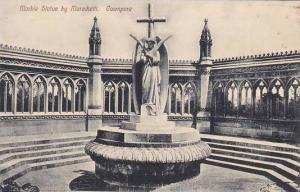 India Cawnpore Marble Statue by Marochetti