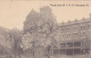 MANSFIELD, Pennsylvania, PU-1914; North Hall, M.S.N.S.