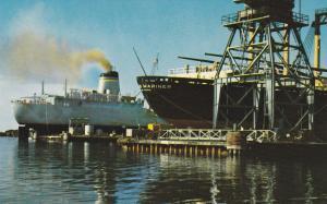 Shipyard , PASCAGOULA , Mississippi , 50-60s