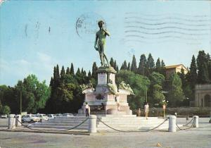 Italy Firenze Piazzale Michelangelo