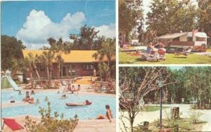 Holiday Travel Park, Leesburg, Florida, 1983 used Postcard