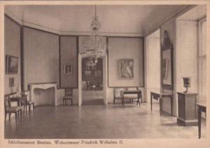 Germany Schlossmuseum Breslau Wohnzimmer Friedrich Wilhelms II