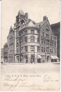 DETROIT, Michigan, PU-1906; Y. M. C. A. Building