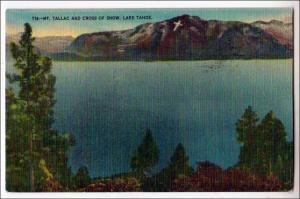 CA - Mt Tallac & Cross of Snow, Lake Tahoe