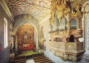 Portugal Coimbra University Chapel With Organ