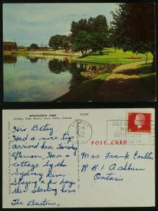1366 Wentworth Park-Sydney, Cape Breton, NS (slogan) to