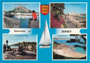 Mont Orgueil Castle, Havre des Pas, Beauport Bay, St. Brelade's Gardens, JERS...