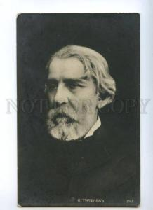 174432 Ivan TURGENEV Russian novelist WRITER Vintage photo PC