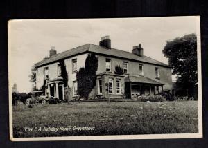 Mint Postcard Ireland County Wicklow YWCA Holiday Home Greystones RPPC