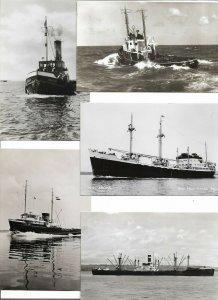 Beautiful Real Photo - Ships Postcard Lot of 15 01.12