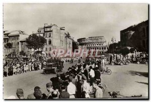 Postcard From Tunis Modern Army Siena 15 June 1944 The french troops march in...