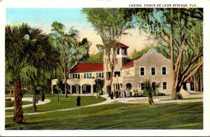 Florida De Leon Springs The Casino Curteich