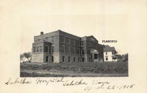 SABETHA, KANSAS SABETHA HOSPITAL-1915 RPPC REAL PHOTO POSTCARD