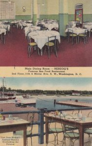 WASHINGTON DC , 1930-40s ; HERZOG's Seafood Restaurant
