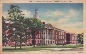 New York Schenectady New Mount Pleasant High School 1938