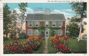 Massachusetts Cape Cod An Old Cape Cod Home 1940