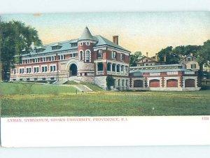 Pre-Chrome BROWN UNIVERSITY Providence Rhode Island RI AG9595