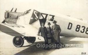 Luft Hansa Early Air Airplane Postcard Postcards  Luft Hansa