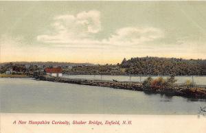Enfield NH Shaker Bridge A New Hampshire Curiosity Postcard