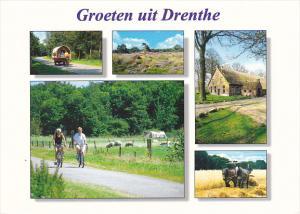 Netherlands Groeten uit Drenthe Multi View