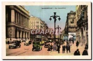 Marseille - La Canebiere - Old Postcard